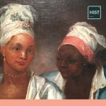 painting of two African slave women