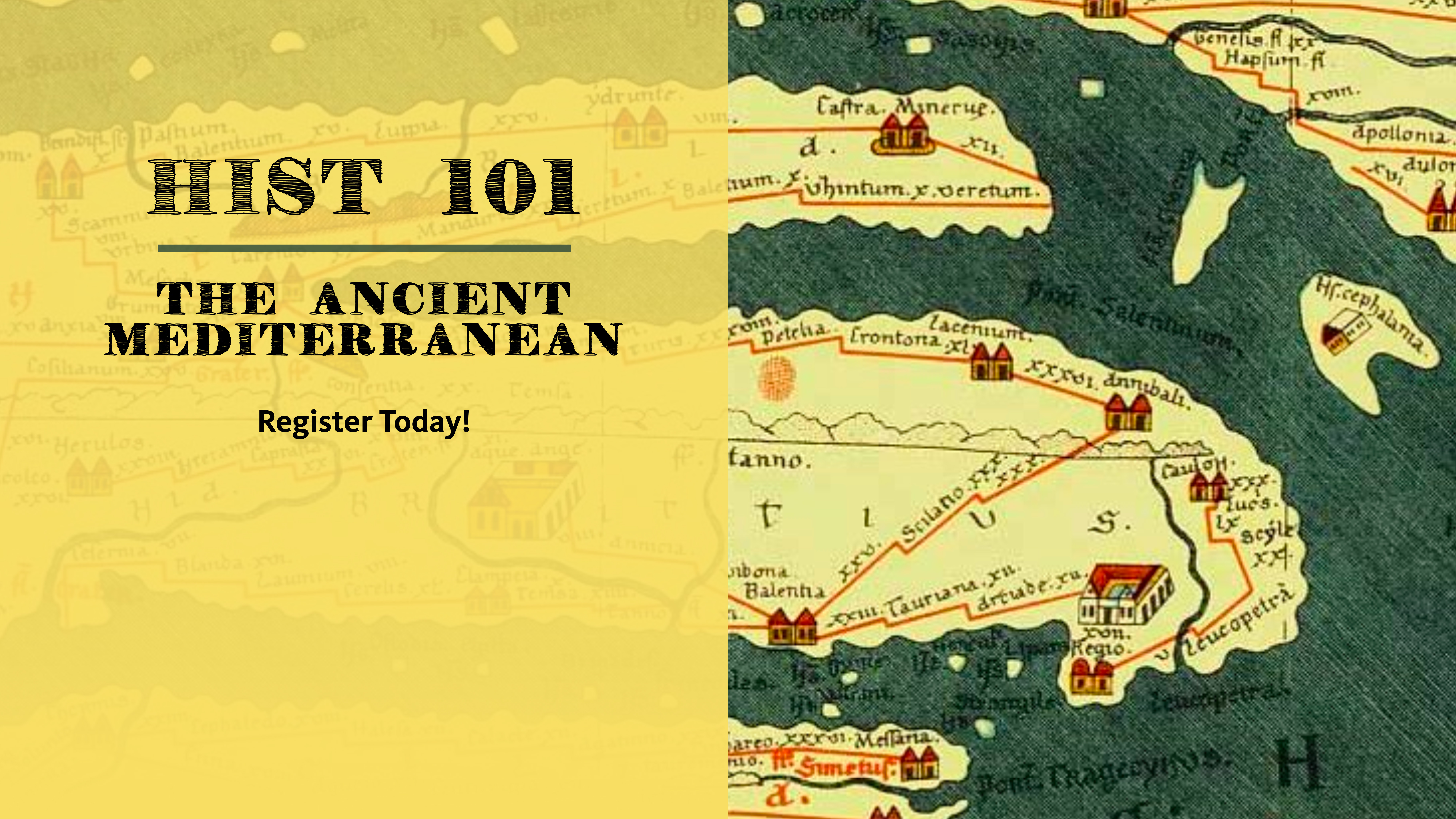 HIST 101: The Ancient Mediterranean | Department of History