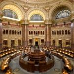 interior of Library of Congress building