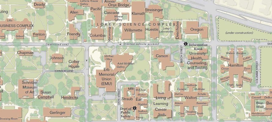 UO Campus Mapping | InfoGraphics Lab